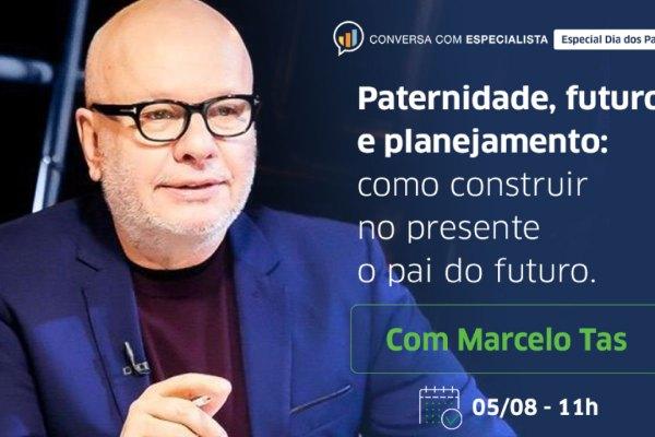 Live da Icatu Seguros especial para o Dia dos Pais será apresentada por Marcelo Tas / Divulgação