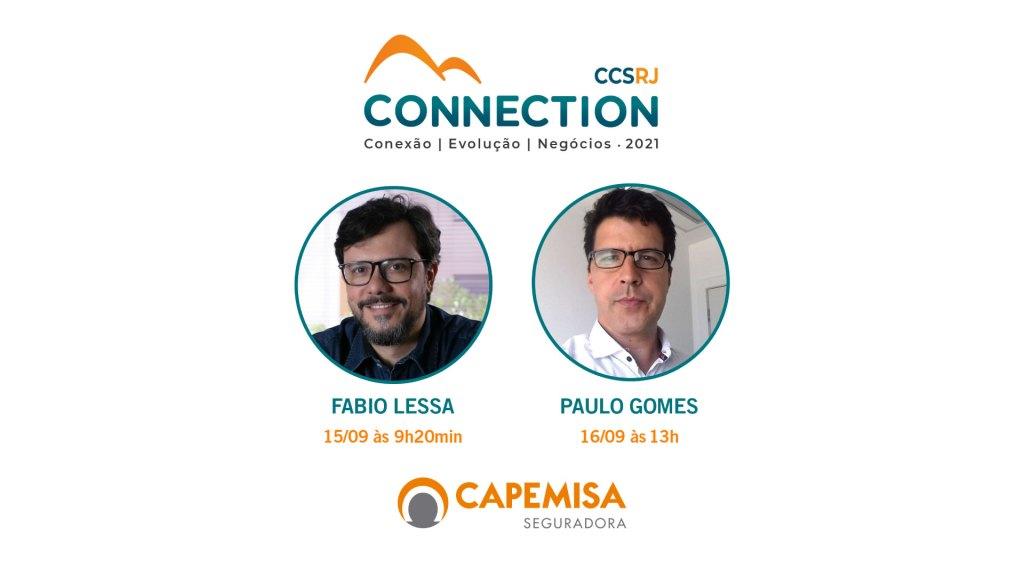 Capemisa Seguradora participa do Connection 2021 do CCS-RJ / Divulgação