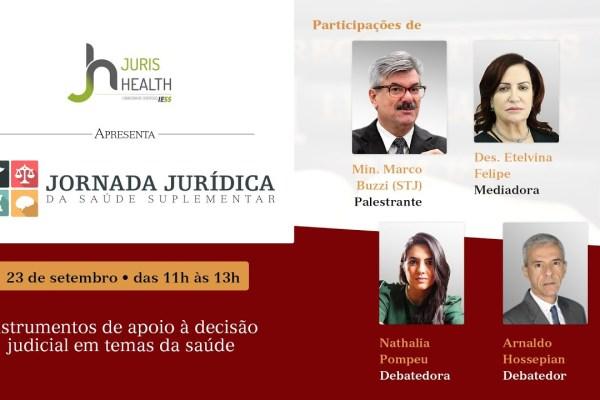 Jornada Jurídica debate caminhos para redução de conflitos na Saúde Suplementar / Reprodução
