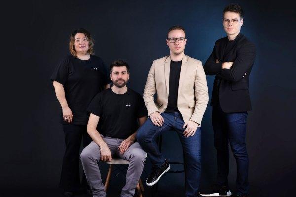 Time executivo da Atar: Katia Benini, Rafael Trisotto, Orlando Purim Junior e Mike Allan Pellin / Divulgação