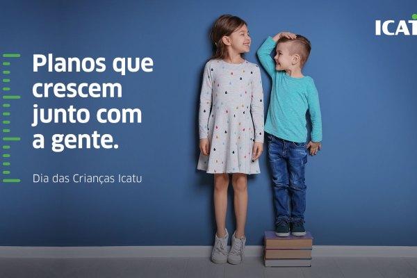 Dia das Crianças: Icatu apresenta campanha que destaca importância da educação financeira / Divulgação