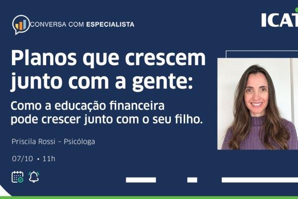 Dia das Crianças: Icatu realiza live sobre educação financeira na infância / Divulgação