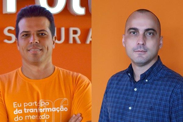 João Géo Neto, CEO da Pottencial; e Daniel Amorim, CTO da Pottencial / Divulgação