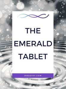 The Emerald Tablet