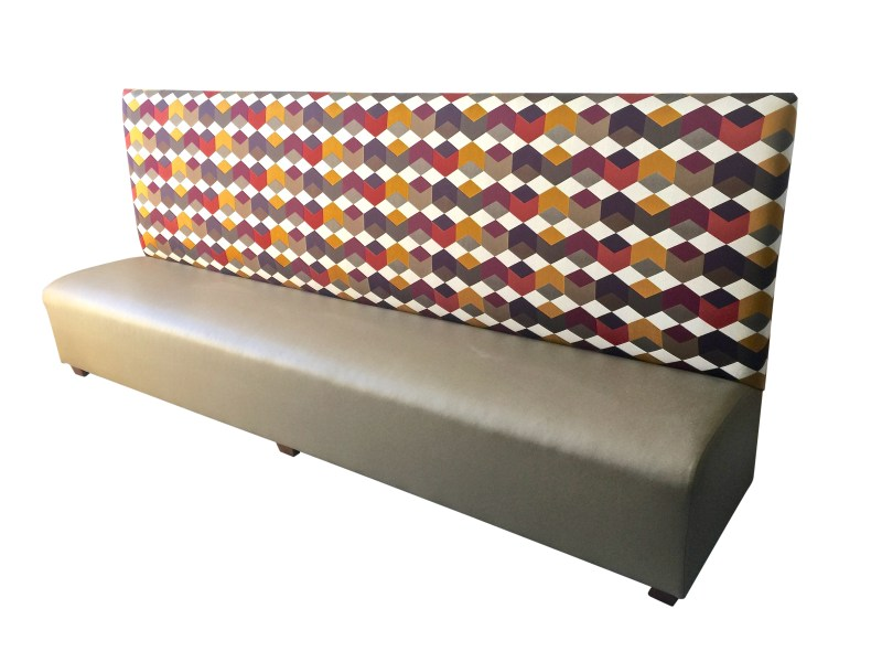 Custom 120 Inch Banquette