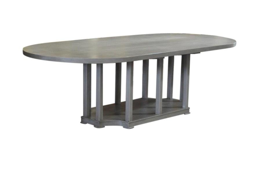 Custom Racetrack Dining Table (1)