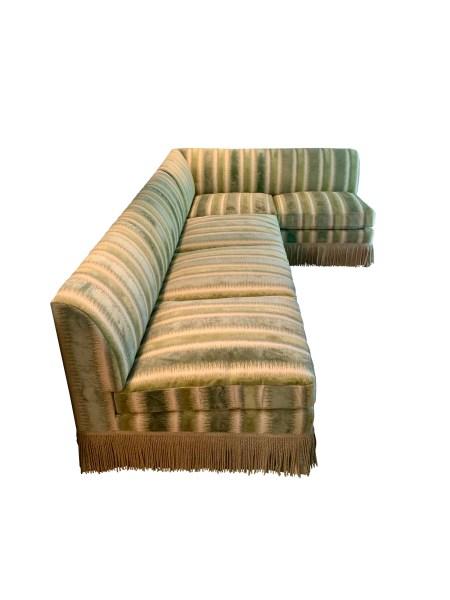 Custom Upholstered Sectional
