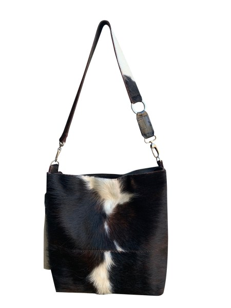 Hair on Hide Purse Bag