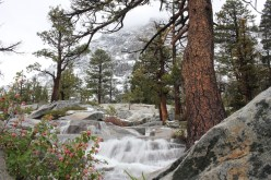 Cascade Falls, in South Lake Tahoe, California in May 2015.