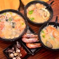 高雄三民高醫〉聚鮮海產粥|小資、霸王海鮮粥|單人家庭聚餐的好所在!