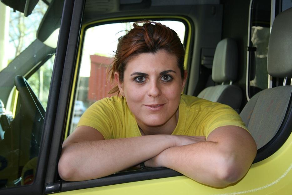 La mujer en las ambulancias