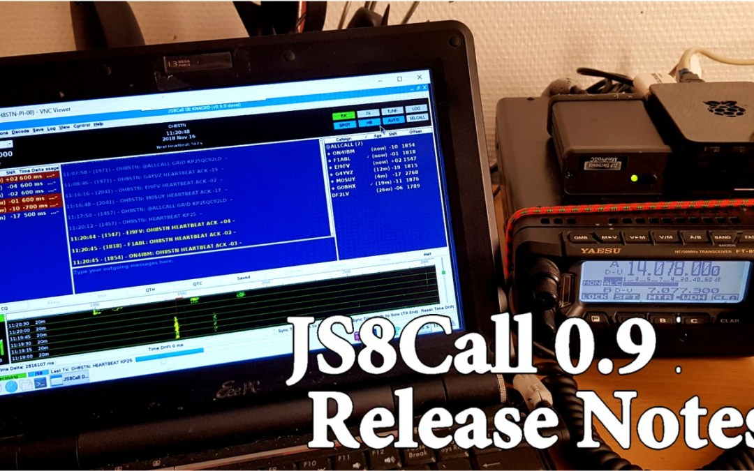 An Overview video of JS8Call 0.9