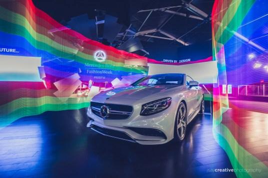 Mercedes Benz Fashion Week Pixel Stick-7