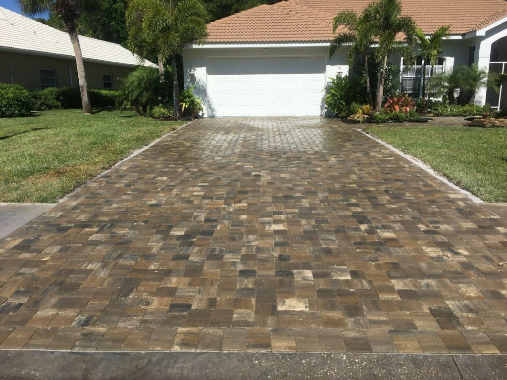 stay off pavers after sealing
