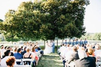Outdoor Wedding Ceremony at SMF