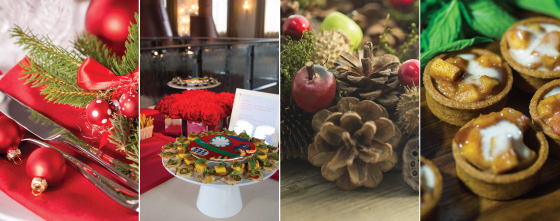 Classic Holiday Theme at Phoenixville Foundry