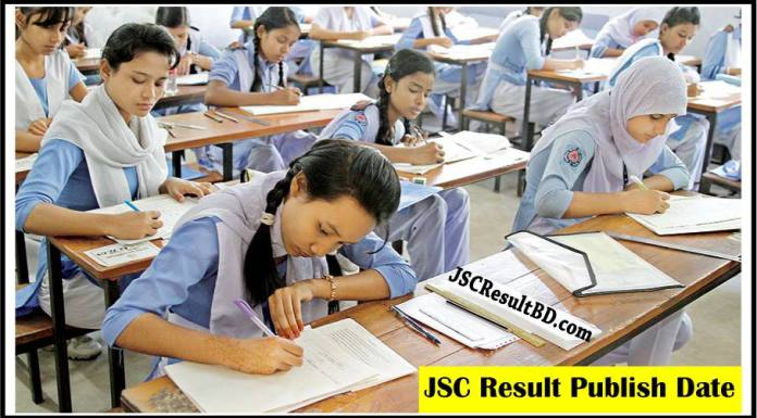 JSC Result Publish Date 2018