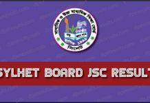JSC Exam Result Sylhet Board
