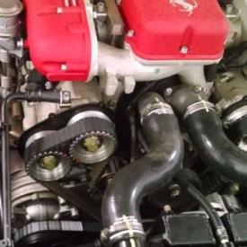 f575 12-Cylinder Belt Service