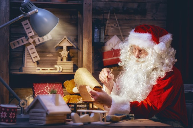 Image result for santa's contract