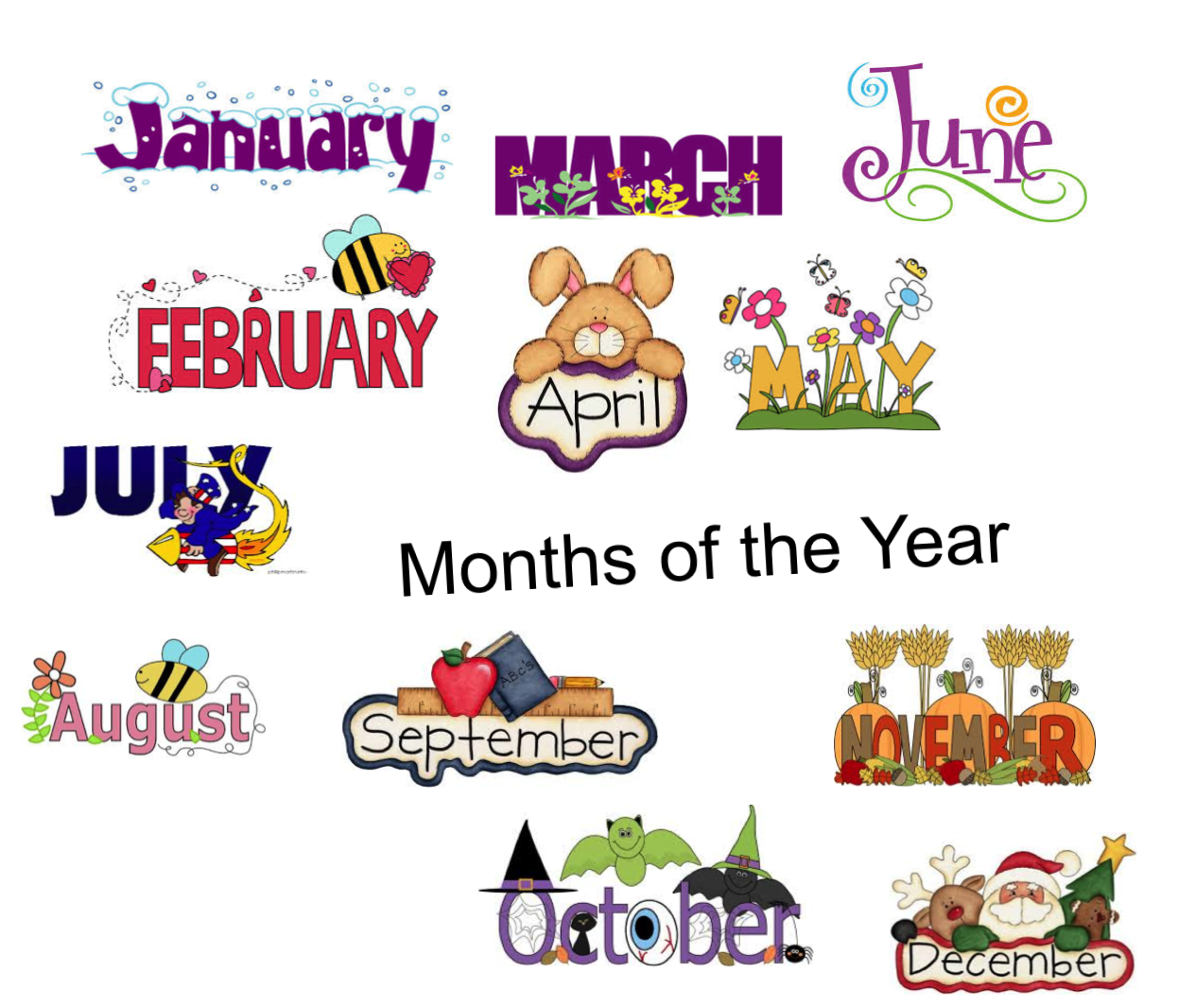 Smartboard Lesson Months Of The Year Johnny Shen