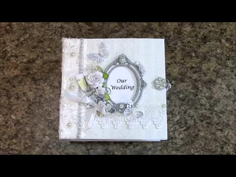 WEDDING ALBUM 8 X BY SHELLIE GEIGLE