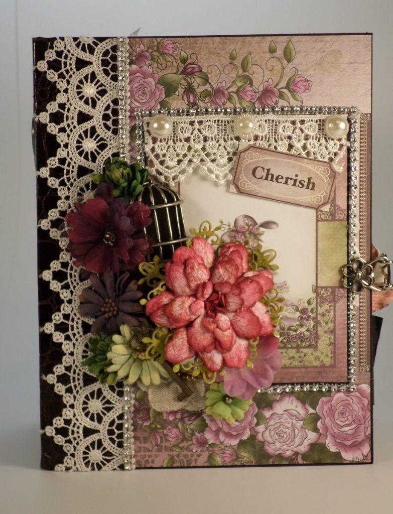 Heartfelt Creations Raindrops on Roses Mini Album