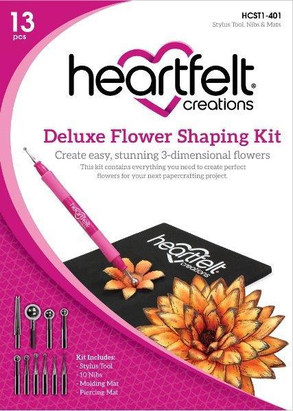 Heartfelt Creations Deluxe Flower Shaping Kit