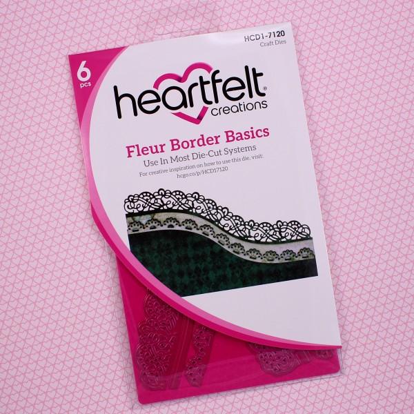 Heartfelt Creations Fleur Border Basics Die