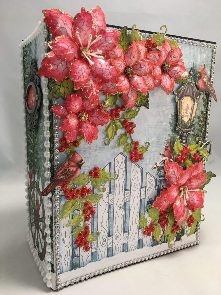 Heartfelt Creations Festive Holly Mini Album