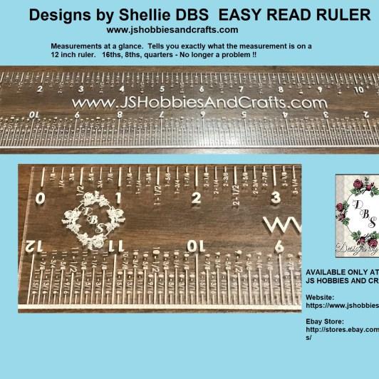 DBS Easy Read Ruler