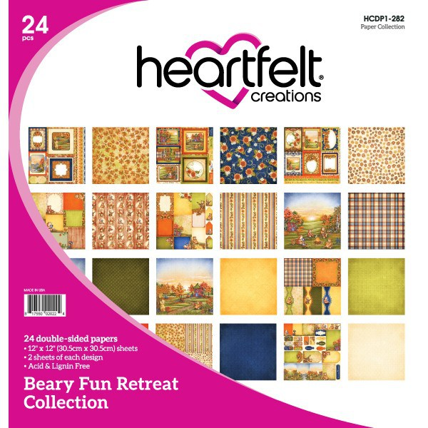 Heartfelt Creations Beary Fun Retreat