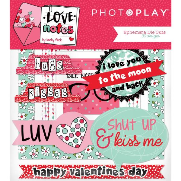 Photo Play Love Notes Ephemera