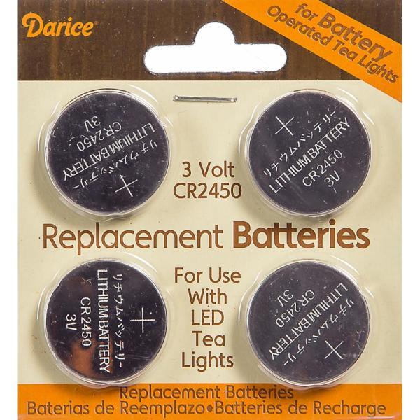 Darice Replacement Batteries