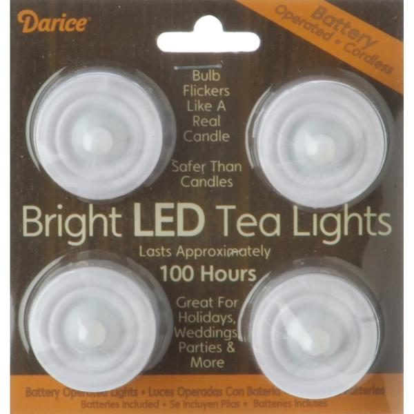 Darice Battery Operated LED Tea lights