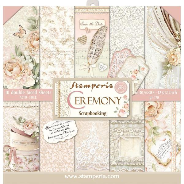Stamperia Ceremony Double Sided Paper Pad