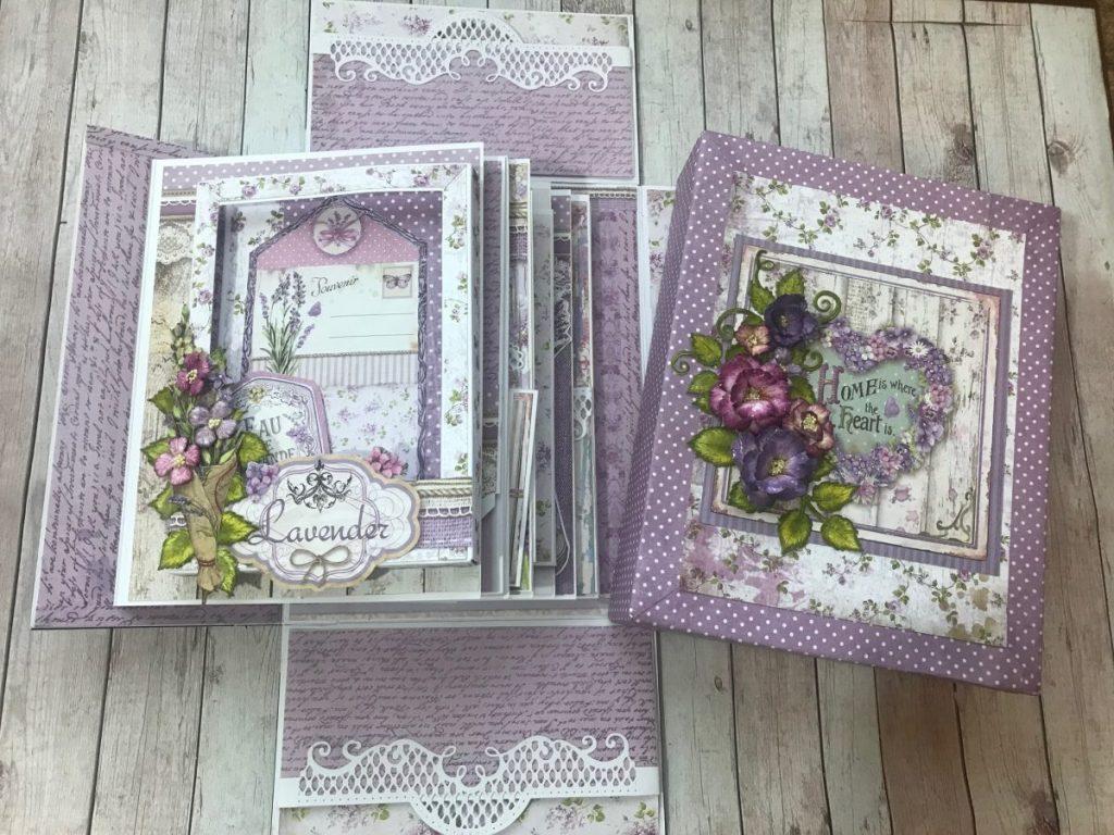 Stamperia Provence Mini Album Tutorial