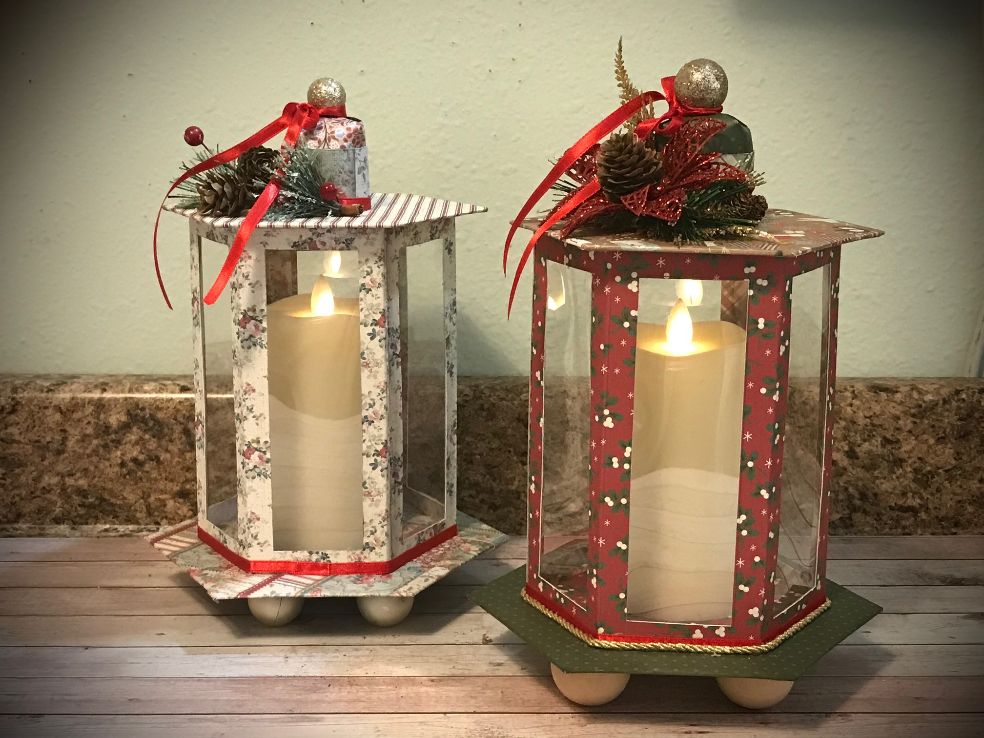 Simple Stories Merry & Bright Holiday Lantern