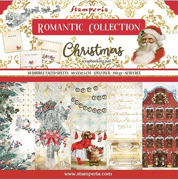 What's New! Stamperia Romantic Collection Christmas Paper