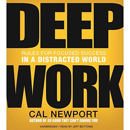 Deep Work by Cal Newport Cover