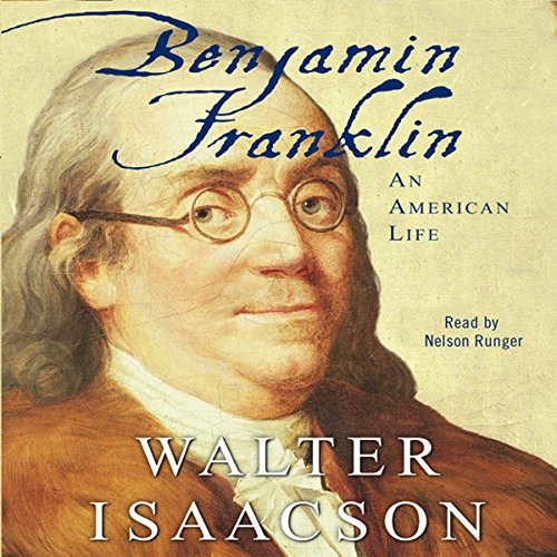 Benjamin Franklin by Walter Isaacson Cover