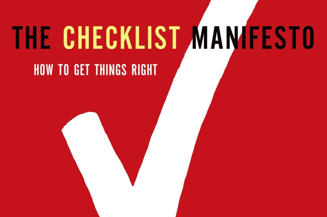 The Checklist Manifesto by Atul Gawande Summary