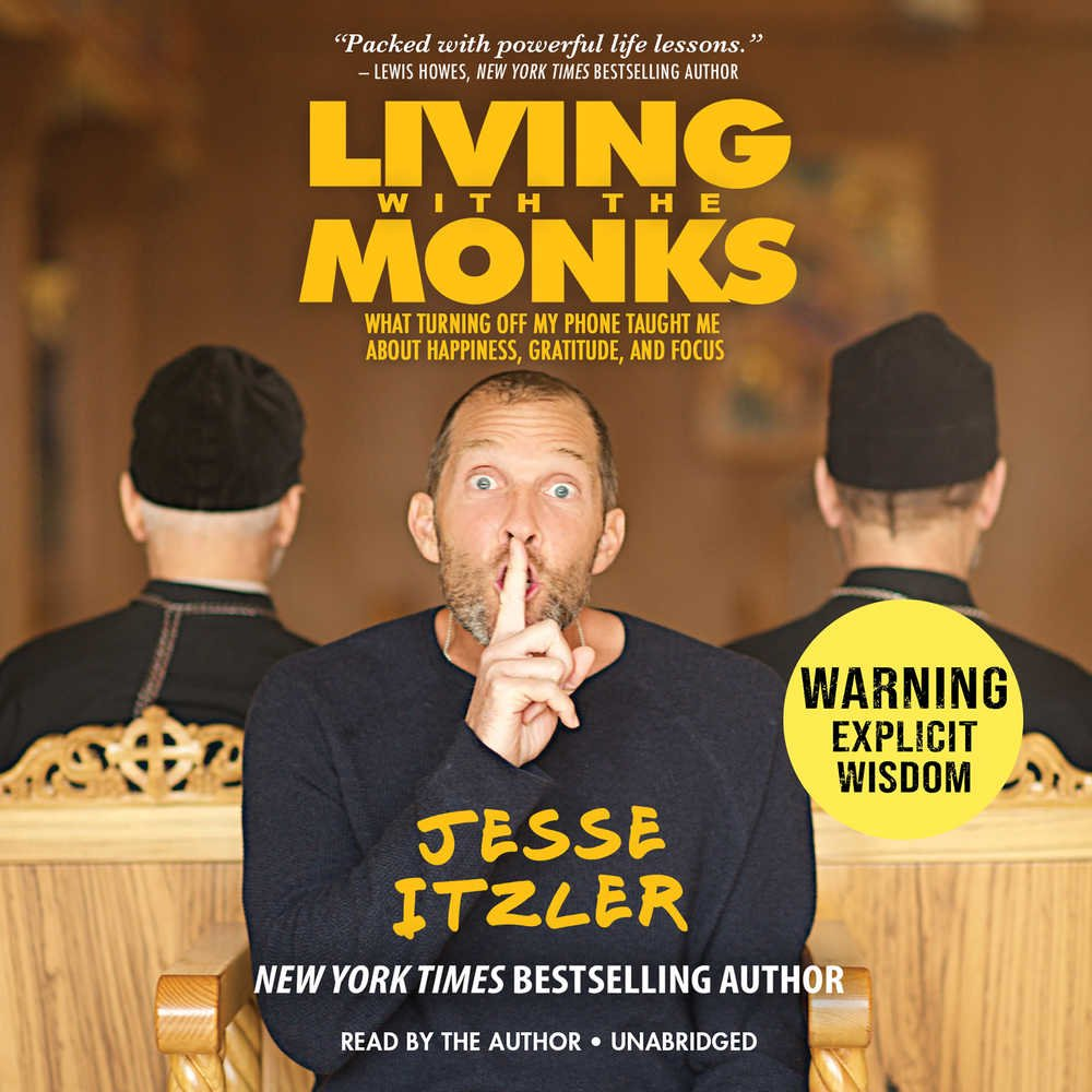 Living with the Monks book cover