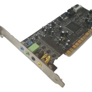 Creative Labs Sound Blaster LIVE! SB0410, 24bit 7.1 Ch, PCI Card