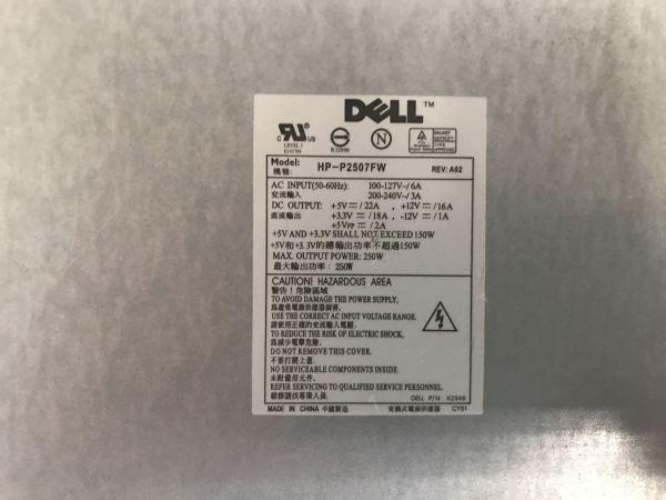 Dell HP-2507FW Power Supply. CN-K2946