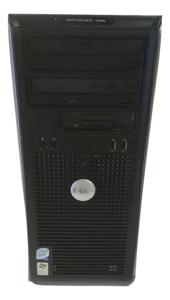 Dell Optiplex 755 Tower - Core 2 Duo - 2.66GHz - 2 GB RAM - 40 GB HDD - Lubuntu