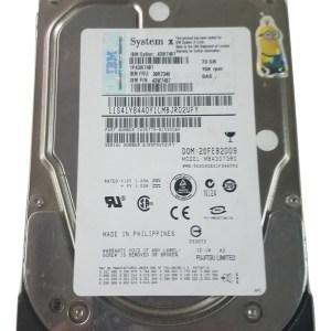 """IBM/Seagate 73GB 15K 3.5"""" SAS hard drive 39R7348 43W7487 43W7481 ST373455SS"""