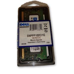 DELL 1GB MEMORY MODULE-- DDR2 SODIUM 800MHz SNPPP102C/1G