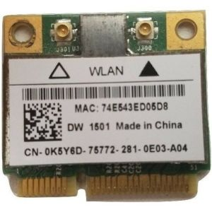 BROADCOM 4313 BCM94313HMG2L WIFI WIRELESS CARD K5Y6D & WHDPC DW1501