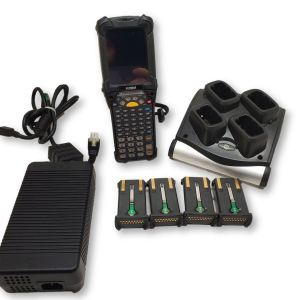 Symbol Motorola MC9190 Long Range 2D Imager with Charger and 4 Batteries